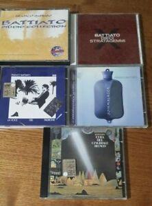 LOTTO 5 CD BATTIATO  - NEAR MINT