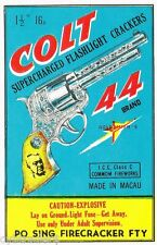 Firecracker Colt 44 Image Refrigerator / Tool Box Magnet Man Cave