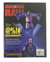 WWF Raw Magazine February 1999 Stone Cold Steve Austin Undertaker Deb Poster WWE
