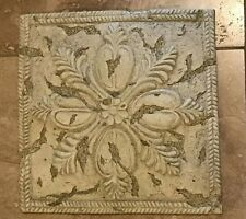 Stepping Stone 11.5 in Lawn Decor Acanthus Medallion 7.8 lb. Concrete Resin