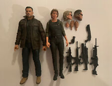 Neca Terminator Dark Fate Carl The T-800 Sarah Connor Schwarzenegger Loose Lot