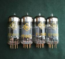 EF860 4PCS RFT PENTODE TUBES GOLD-PLATED PINS /EF800/