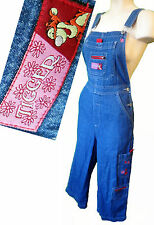 Tigger winnie the Pooh DISNEY Small Overall embroidered short denim jean 30