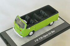 PREMIUM 18400 - VOLKSWAGEN VW T2B bus ouvert cabriolet vert  1/43