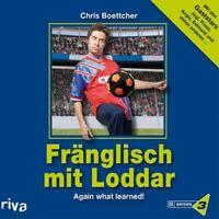"""CHRIS BOETTCHER """"FRÄNGLISCH MIT LODDAR"""" HÖRBUCH CD NEW"""
