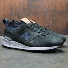 Rare New Balance 997 Made In USA Green Suede Men's Size 7 New M997HB2