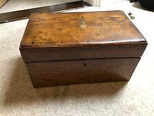 Vintage Antique **Victorian Writing Slope Lap Desk Box