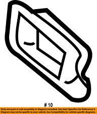 CHRYSLER OEM Rear Floor Rails-Rail Cap Left 4580043AC