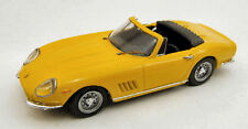 Ferrari 275 Gtb/4 Spyder 1966 Yellow 1:43 Model BEST MODELS
