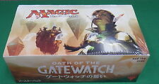 Magic the Gathering Oath of the Gatewatch Booster Box Japanese Language