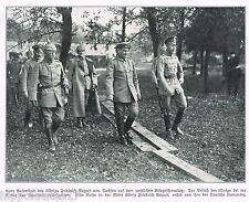 ADEL, 1914, König Friedrich August von Sachsen, WW1, Deutscher Kronprinz (24)