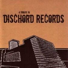V.A. - A Tribute To Dischord Records CD MINOR THREAT EMBRACE FUGAZI GRAY MATTER