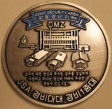 DMZ Demilitarized Zone Korea UN Joint Security Area JSA Challenge Coin