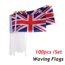 Union jack joblot of 20 car flags royal wedding party festivals free uk p/&p