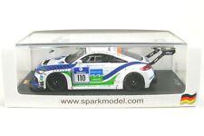1/43 Spark Sg142 AUDI TT RS 24 ore Nürburgring 2014 #110