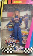 barbie 50 anniversary Nascar 1998 nrfb