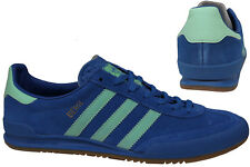 Adidas Originals Jeans City Series Real Leather Sneaker Trainers Blue BB5275
