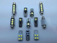 KIT 12 LED Interior Lights Volkswagen MK5 MKV GTI GT VW GOLF 5 Bulbs White GR