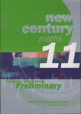 NEW CENTURY MATHS 11 - GENERAL WORKBOOK PRELIMINARY - DUNSTAN & EASTCOTT