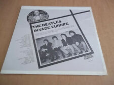 Beatles– Invade Europe (1963-65) rare live LP Not Tmoq SEALED