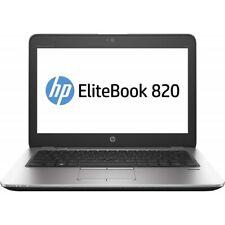 "HP EliteBook 820 G3 Notebook 12.5"" Core i5-6300U, 8GB, SSD 180 GB. Grado B"