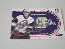 CORY EMMERTON AUTOGRAPHED 2006 ITG TEAM ORR CARD