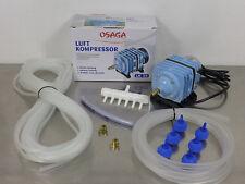 Osaga LK35 2100L/h Teichbelüfter Sauerstoffpumpe Belüfter Kompressor Ausströmer