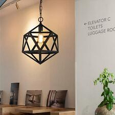 Black Pendant Light Antique Chandelier Lighting Bar Lamp Kitchen Ceiling Lights