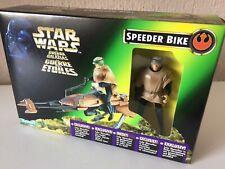 SPEEDER BIKE WITH LUKE - STAR WARS - THE POWER OF THE FORCE - TRILOGO - 1996