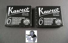 # KAWECO Cartuchos 2 paquetes tinta Negro NUEVO #