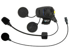 Sena Bluetooth SMH5 Headset Intercom Motorcycles Universal Microphone Single Pac