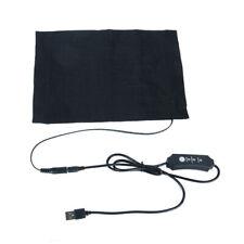 USB Electric Heated Pad Waist Back Winter Warm Mat Carpet Xmas Heating Pad Gift