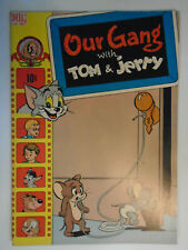 Our Gang with Tom & Jerry #46, Dell Comics, VF, 8.0, White Pages