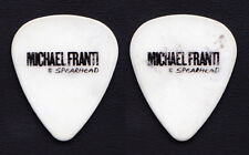 Michael Franti & Spearhead White Guitar Pick - 2013 Tour