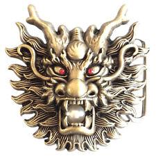 Asian Dragon I Gürtelschnalle China Chinesischer Asiatischer Drache Asien RPG