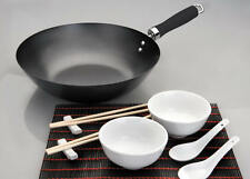 Chinoise complet Set Asia AsiaWok chinawok Bol Cuillère induction Chine Baguettes