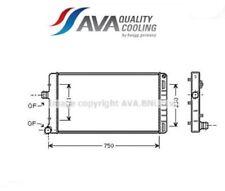 FTA2211 Radiatore, Raffreddamento motore (AVA)