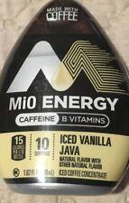 Mio Energy Iced Vanilla Java Liquid Iced Coffee Concentrate 1.62 oz