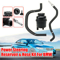 Power Steering Pump Reservoir & Hose Kit For BMW 3 /5 Series E34 E36 E46 E39 HL