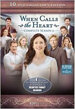 When Calls The Heart Season 6 Complete 10 DVD Collector's Set