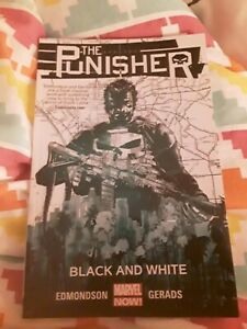 the Punisher Black And White