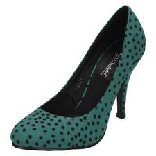 Scarpe da donna verdi sintetici tacco alto ( 8-11 cm )