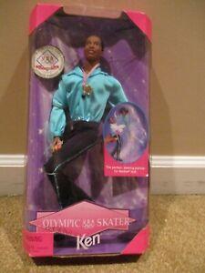 Olympic SKATER USA KEN 1997 BARBIE DOLL~African American~MATTEL