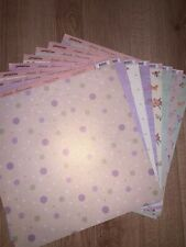 BN 12 X 12 Papers. Pearlescent Paper Adventures Mixed Bundle X 16 Sheets