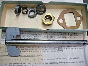 NOS Water Pump Kit 1941-1948 Nash 600 4140 4240 4640 4740 4840 6 cyl. 172.6 173