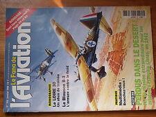 $$6 Revue Le Fana de l'Aviation N°338 Monographie Loire 30  Blouson B-3