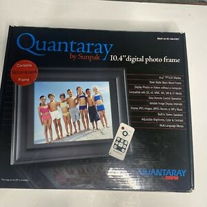 Quantaray Sun pack 10.4 Inch Digital Photo Frame LCD with Remote, MP3, Speakers