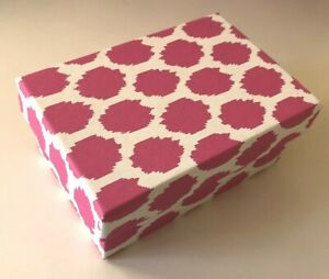 DECORATIVE COLORFUL GIFT/STORAGE BOX, Recycled paper - SM Hot Pink