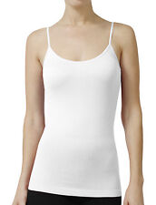 NE PEOPLE Solid Basic Tight Fit Cami Tank Top with Straps 17 Colors- NEWT21