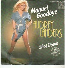 "<4431-19> 7"" Single: Audrey Landers - Manuel Goodbye"